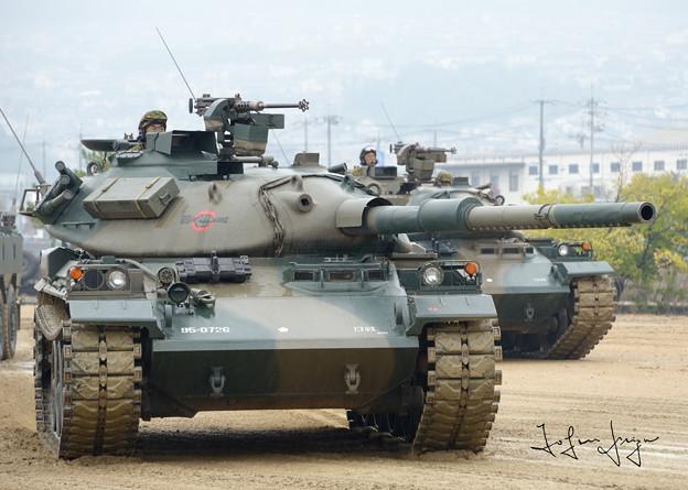 模擬戦終了時の74式2L