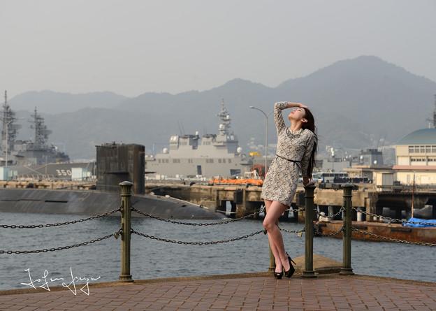 加奈恵桟橋引き横2L