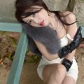 写真: 加奈恵櫓寄りかかり2L