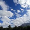 写真: 夏の雲と浅間山