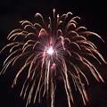 写真: 諏訪湖の花火(2)