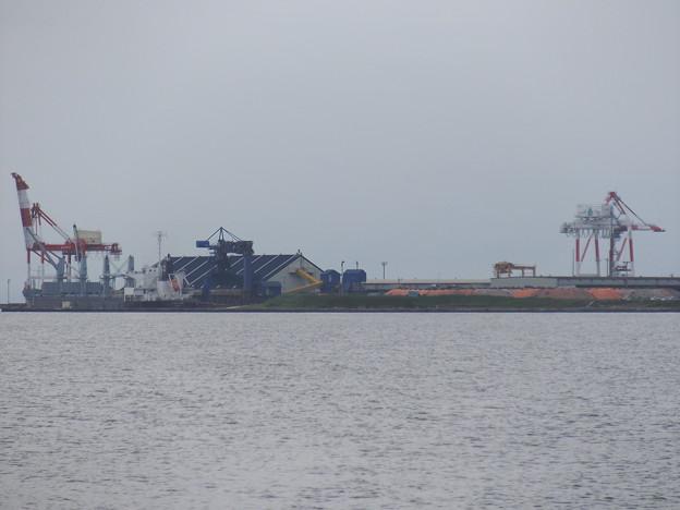 秋田港~外港の風景