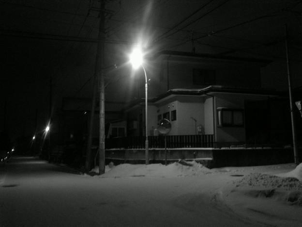 街路灯の在る風景