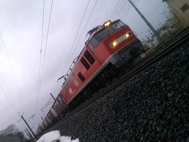 16:28~EF510-21牽引 上り貨物