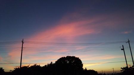 なんか空が綺麗
