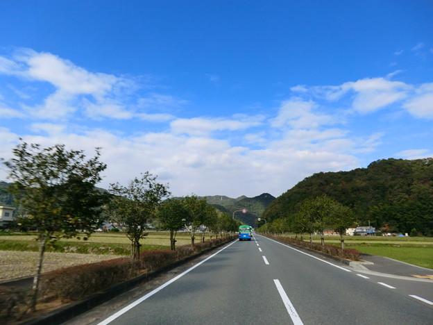 兵庫県同44号相生宍粟線北上中 -...