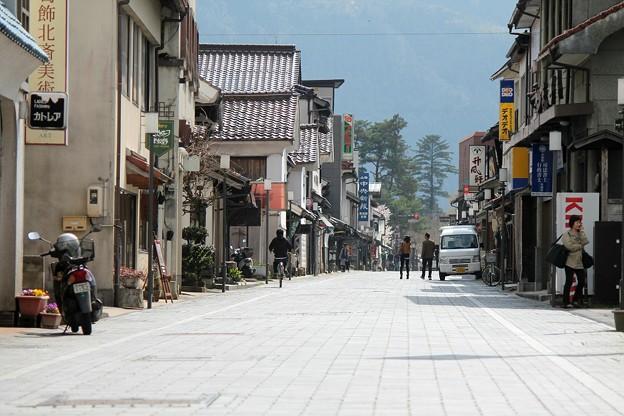 津和野 石畳の道