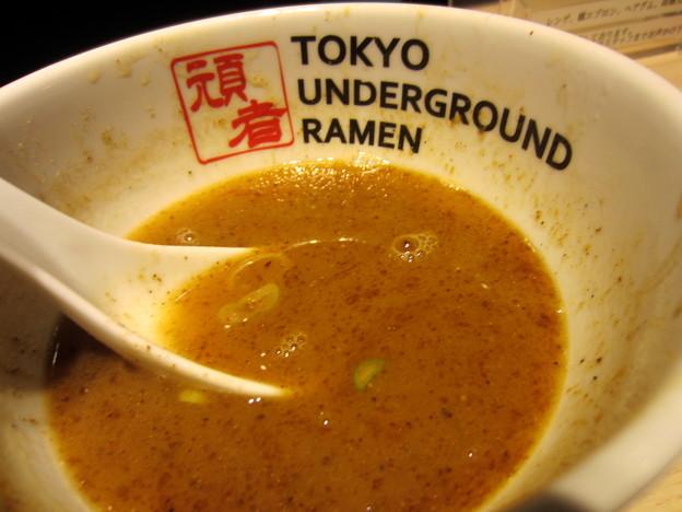 つけめん(濃厚)M スープ割
