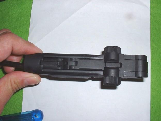 LS のルガーはボルトロックが再現されている Doburoku-TAO