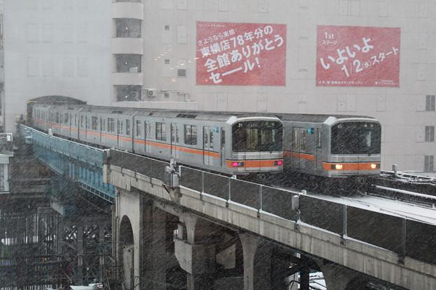 01-622Fと01-616F in渋谷駅