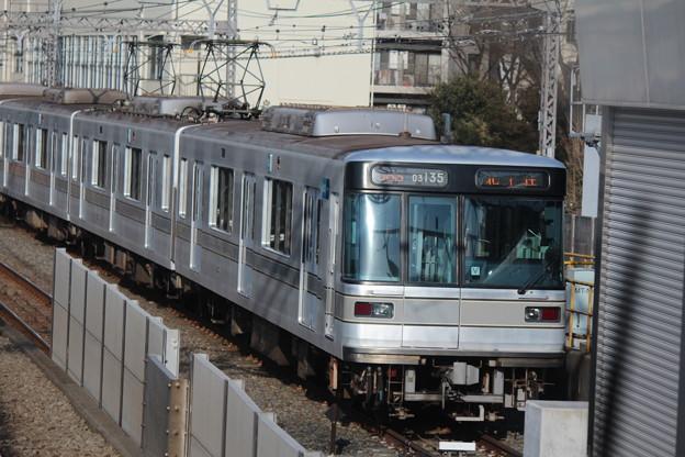 03-135F@中目黒駅引込み線