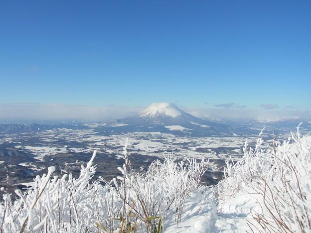 姫神山からみた岩手山