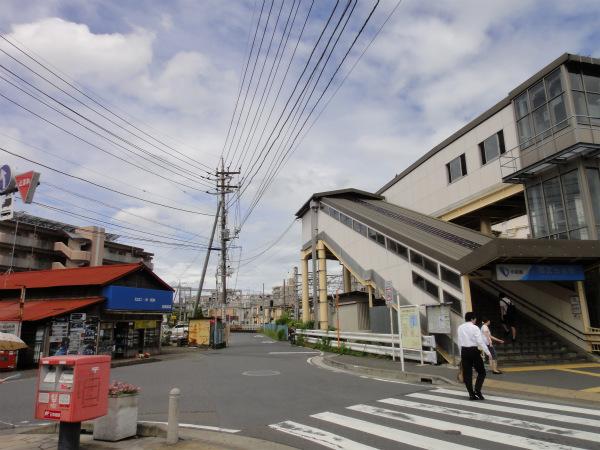 小田急線相武台前駅南口の駅前