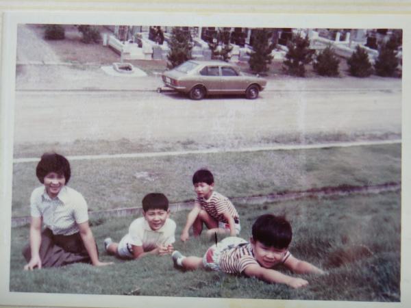 38年以上前の同じ場所からの写真