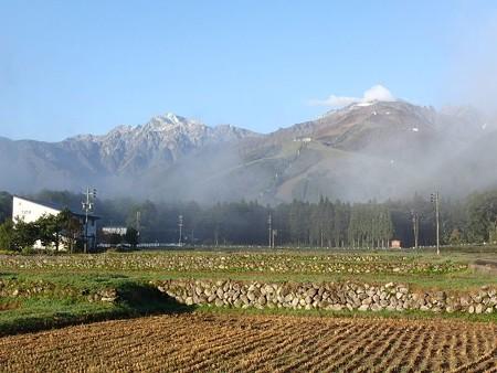 25 10 長野 白馬岩岳の風景 4