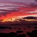 写真: 展海峰の夕焼け♪