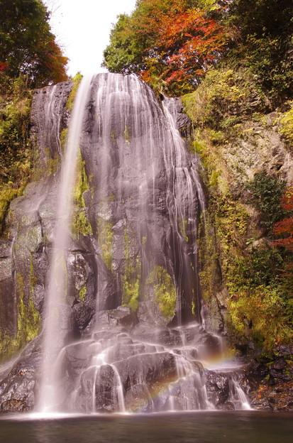 写真: かっぱ滝のレインボー♪