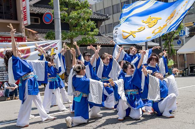 踊っこまつり2018 御津の踊り子