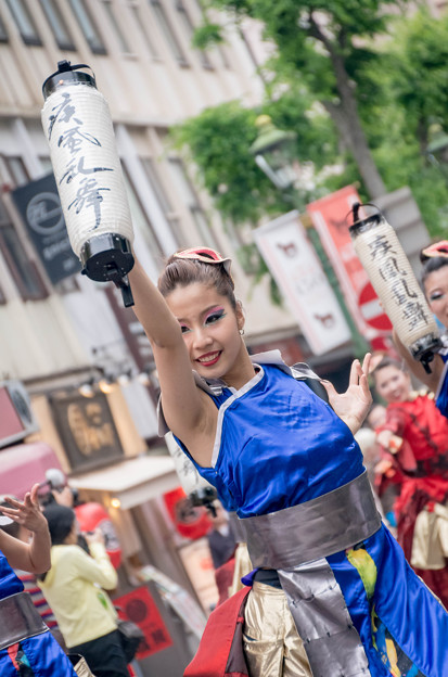横浜よさこい祭り2016 疾風乱舞