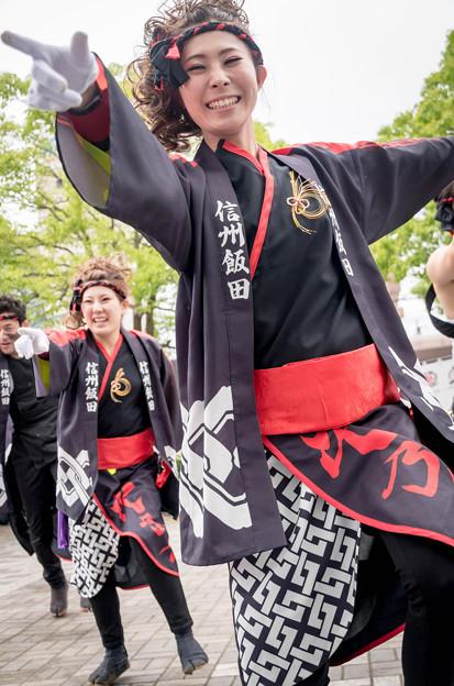 犬山踊芸祭2016 信州飯田RANGOKU