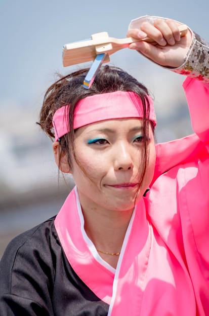 横浜よさこい祭り2016 相模RANBU〇