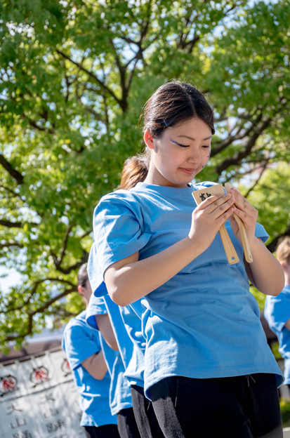 犬山踊芸祭2016 長野県看護大学よさこいサークル 鼓魂