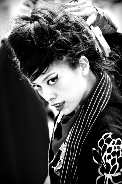 一宮七夕祭り鳴子踊り2016 百華夢想