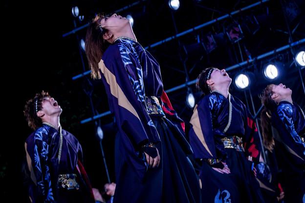 よさこい全国大会2016 早稲田大学踊り侍