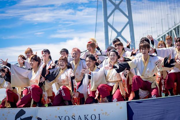 神戸よさこい2016 島根県立大学よさこい橙蘭