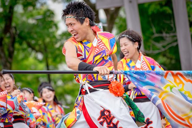 神戸アライブ2016 うらじゃ踊り連 葉月-HAZUKI-