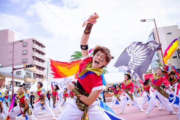 安濃津よさこい2016 ダンスチーム凛
