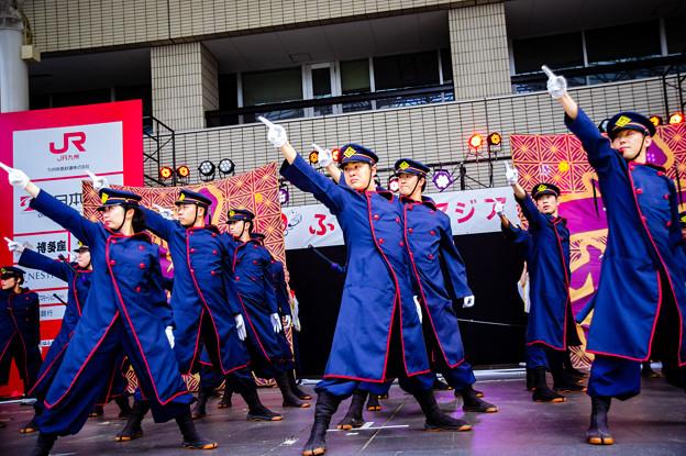 ふくこいアジア祭り2016 JR九州櫻燕隊