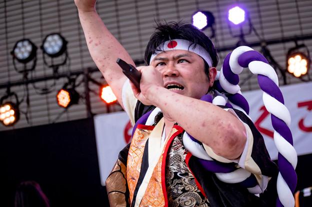 ふくこいアジア祭り2016 博多よさこい連