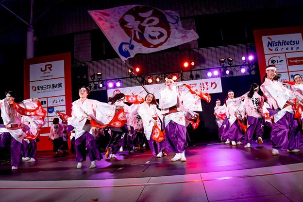 写真: ふくこいアジア祭り2016 ふくこい連
