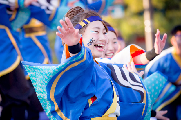 京都さくらよさこい2017 京炎 そでふれ!咲産華