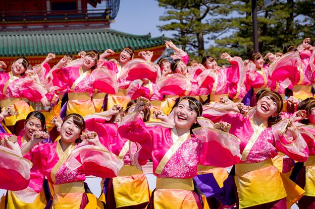 京都さくらよさこい2017 京炎そでふれ!京小町