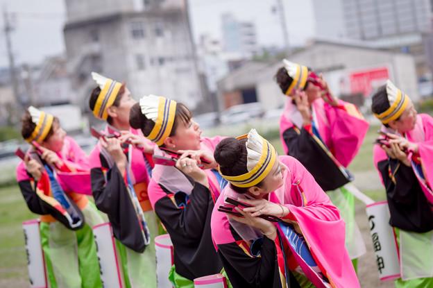 どまつり夜桜in岡崎2017 らんラン東海