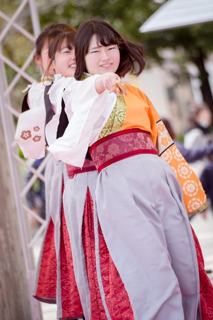 京都さくらよさこい2017 同志社大学よさこいサークルよさ朗