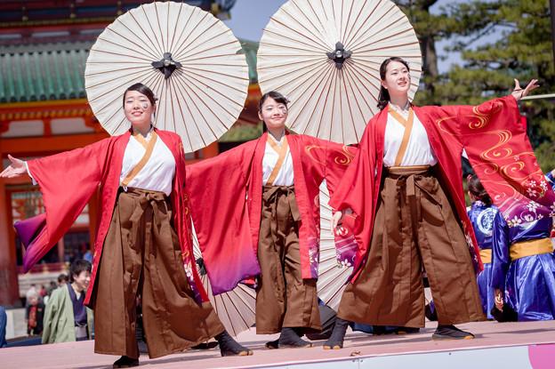 京都さくらよさこい2017 京炎そでふれ!花風姿