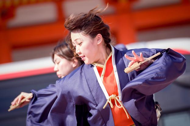 京都さくらよさこい2017 かんしゃら