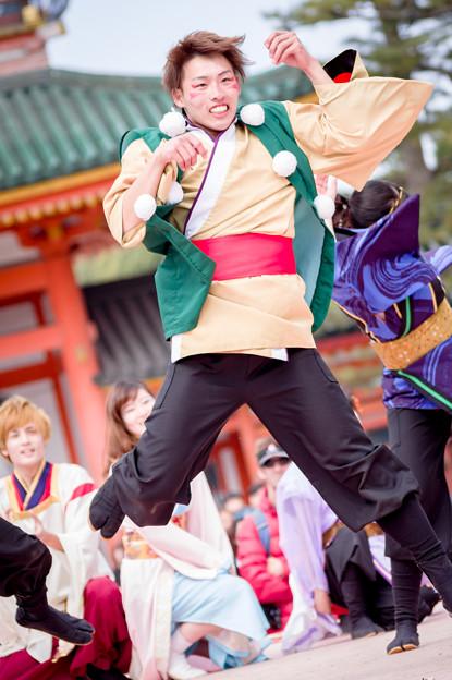 京都さくらよさこい2017 京炎そでふれ!文舞蘭