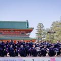 写真: 京都さくらよさこい2017 京炎そでふれ!華羅紅