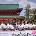 写真: 京都さくらよさこい2017 京炎そでふれ!京躍華