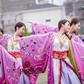 写真: どまつり夜桜in岡崎2017 守破離