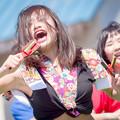 写真: 賤岳春乱舞2017 舞桜嵐