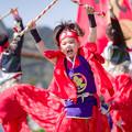 写真: 賤岳春乱舞2017 舞宇夢赤鬼
