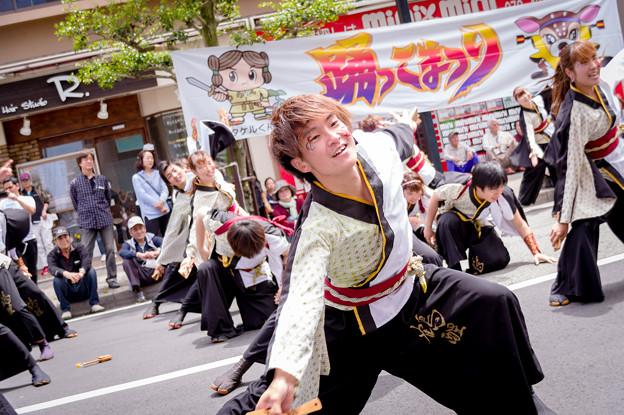 踊っこまつり2017 有閑踊り子一座飛舞人