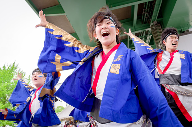 わいわい若宮2017 名古屋学生チーム「鯱」