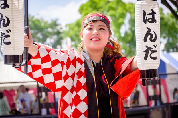 """よさこい in おいでん祭2017 はんだ踊りん!チーム""""GON"""""""