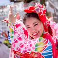 写真: 犬山踊芸祭2017 よさこい塾・ありがた屋